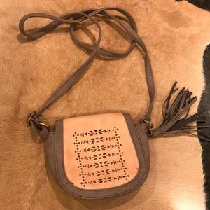 Maurice's Faux Leather Small Crossbody Aztec